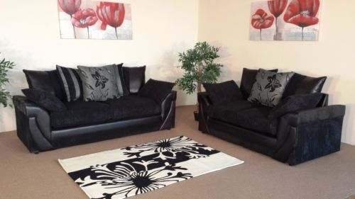 HALO SOFA 3+2 The Range is made from Luxurious Chenille Fabrics and Authentic Faux Leathers with Chrome Feet Our Stunning Designs and Robust Construction provide a Style and Comfort at an Unbelievable Price.