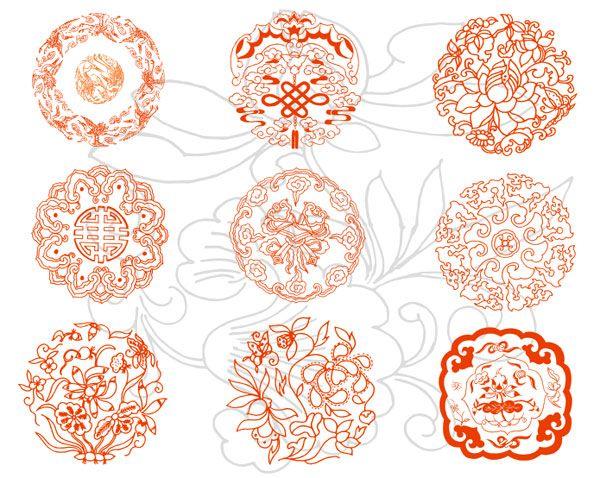 Chinese Auspicious Pattern