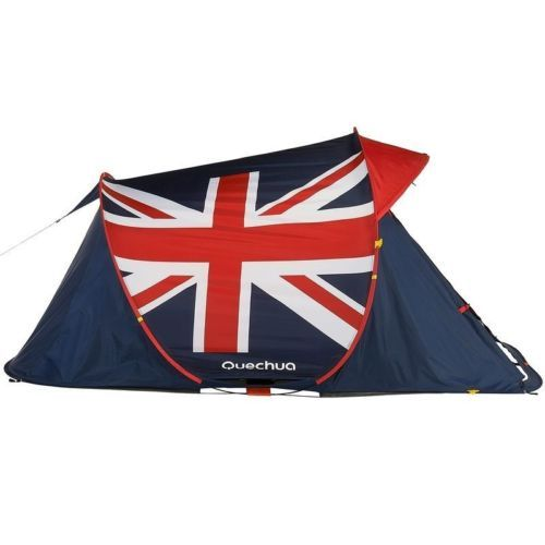 Quechua Tent Camping 2 Seconds Easy 2 Green POP UP Tent UK Double Skinned | eBay