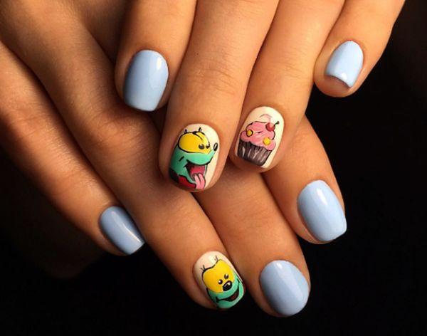 милый маникюр, дизайн ногтей, стильные ногти, красивый маникюр, nail design style