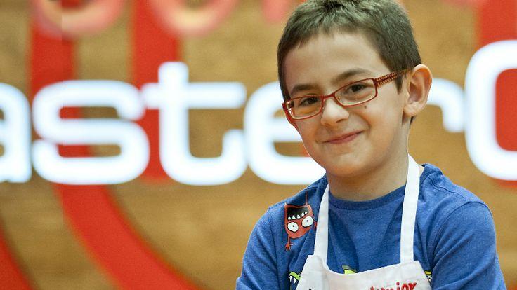 MasterChef Junior - Aimar, 8 años. 4º de primaria se presenta (Vizcaya) ( Gracias Camille)