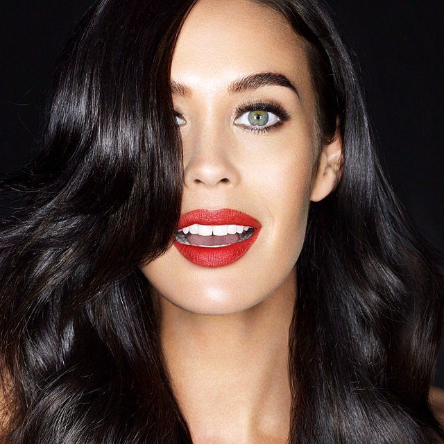 OK, we know this is a campaign image. But let's just take a minute to appreciate Megan Gale, yeah? Source: Instagram user megankgale