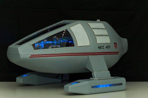 Custom Star Trek USS Dragon-1 PC: To Boldly Game - Technabob