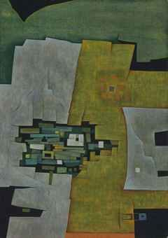 gunther gerzso paintings | Gunther Gerzso (Mexican 1915-2000) | Ciudadela | Latin American Art ...
