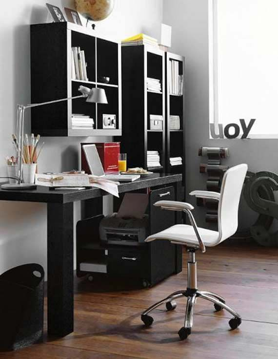 Functional and Comfortable Home Office with Smart Fitted Furniture