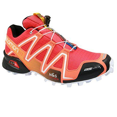 Salomon Speedcross 3 CS Womens Trail Running Shoes  AW15  8  Orange >>> For more information, visit image link.