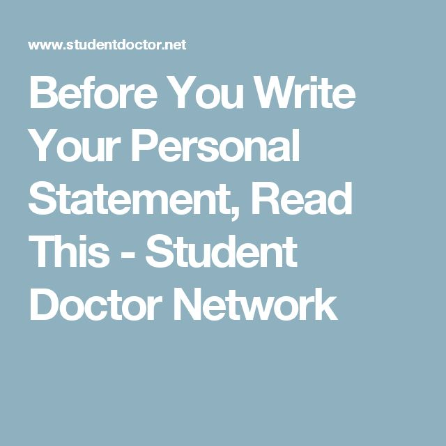 Best Personal Statements Images On   Career College