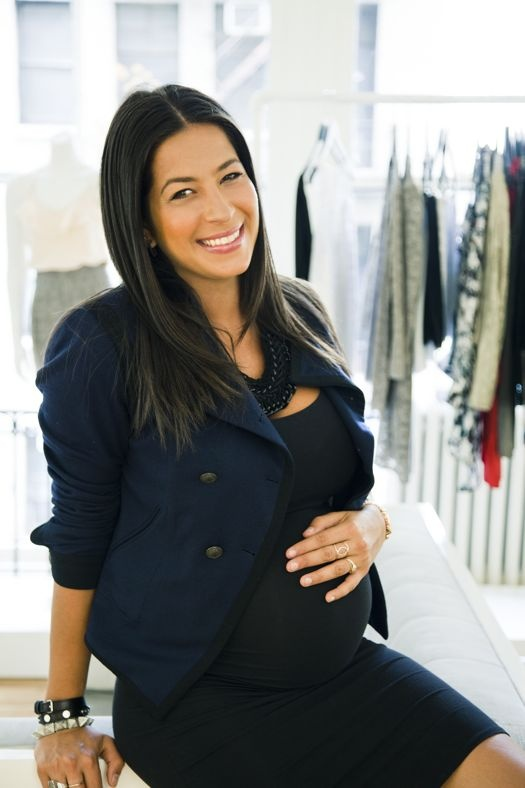 rebecca minkoff's great maternity style.