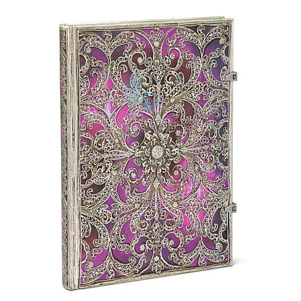 Antiquarian Lexicon Aubergine Blank Book | ThinkGeek
