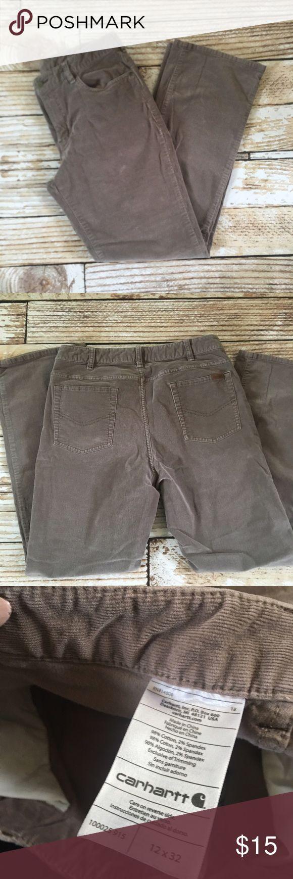 Carhartt corduroy boot cut pants size 12 Carhartt corduroy boot cut pants size 12 Carhartt Pants Boot Cut & Flare
