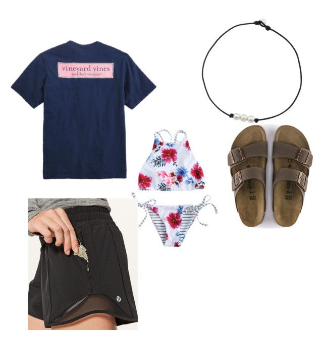 """Untitled #2"" by mgcgchlhtl ❤ liked on Polyvore featuring Vineyard Vines and lululemon"