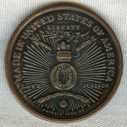 Flying Tiger Antiques Online Store: Amazing WWI Pocket Locket / Good Luck Charm / So-Called Dollar