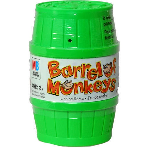 The 25 Best Barrel Of Monkeys Ideas On Pinterest Green Care Package Monkey Party Favors And