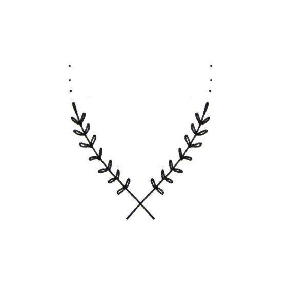20 ideias de tatuagens simples e discretas | Laís Schulz Ideias para tatuar flores de lavanda simples e delicadas