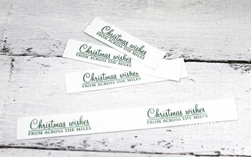 how to make easy christmas cards at home