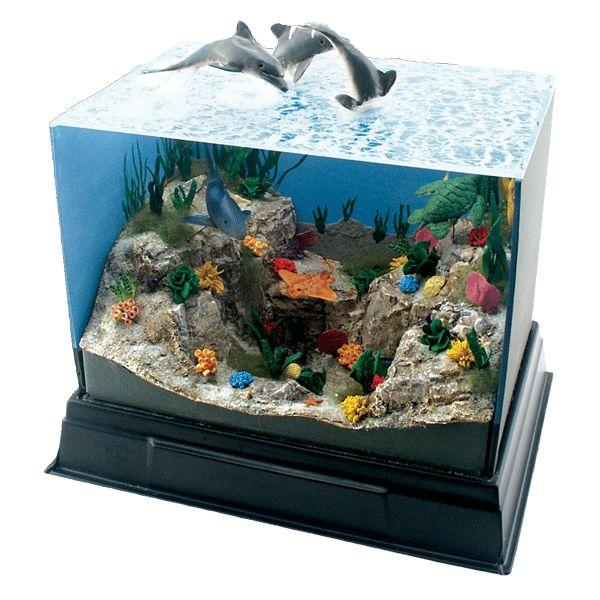 top ocean habitat diorama - photo #27