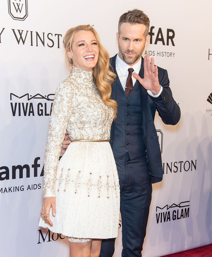 Blake Lively and Ryan Reynolds are 11 years apart. Also Serena Van der Woodsen and Deadpool are my favorite celebrity couple <3 <3 <3