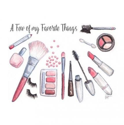 61 trendy ideas for makeup brushes drawing art drawing