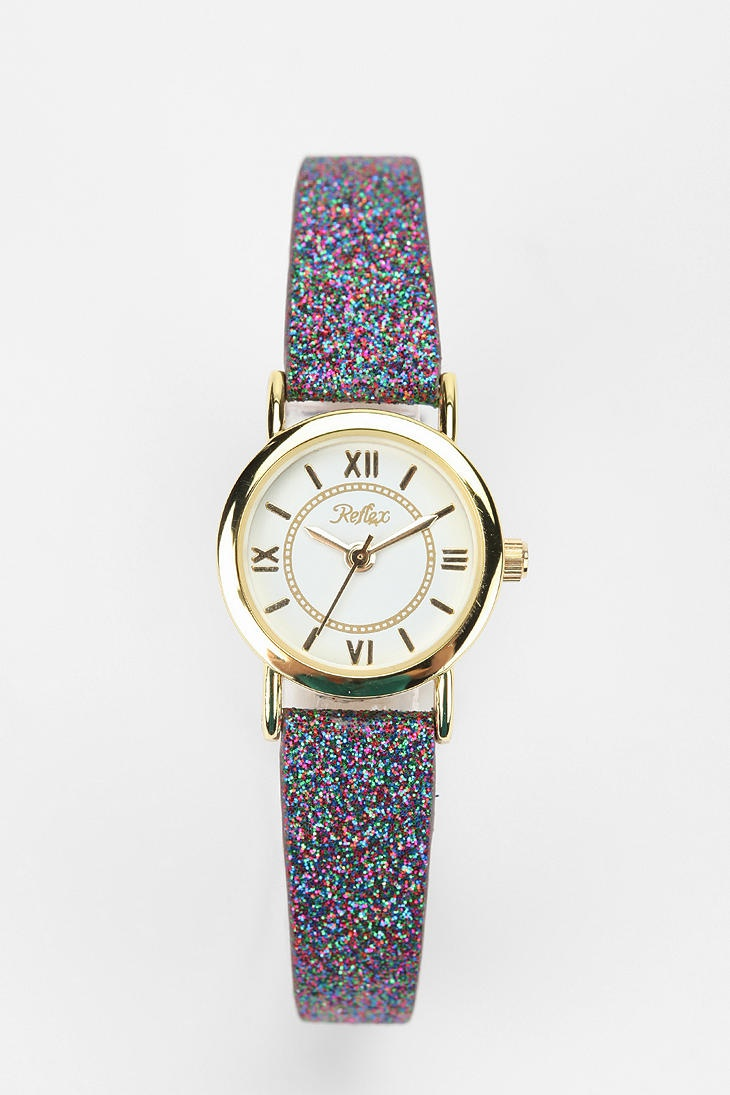 Glitter Strap Watch Online Only, this has @NYCPRGAL 's name all over it.