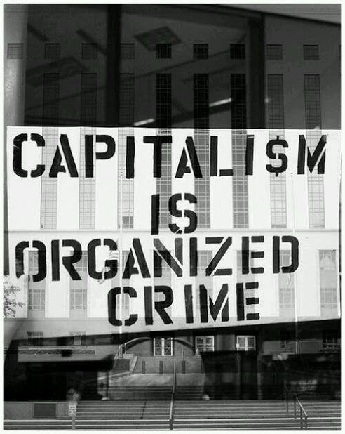 Unregulated capitalism = Greed