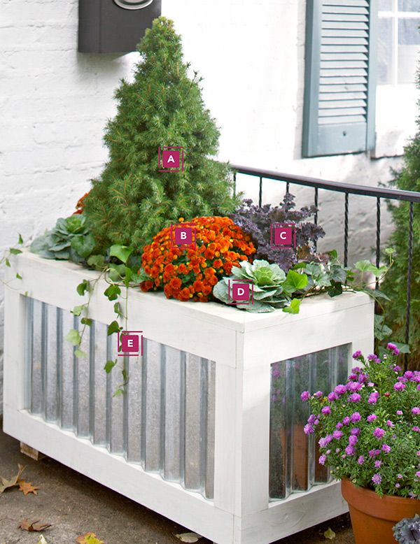 plant container: Benches Ideas, Planters Projects, Wood, Container, Boxes Ideas, Planter Boxes Fall Plants, Seasons Planters, Planters Boxes, Nice Planters