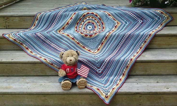10 besten Decken Bilder auf Pinterest   Häkeldecken, Stricken häkeln ...