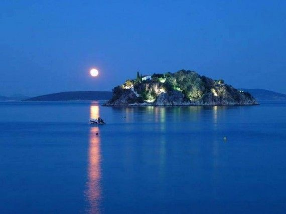 Koronisi island