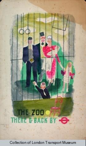 1936 London Transport Poster