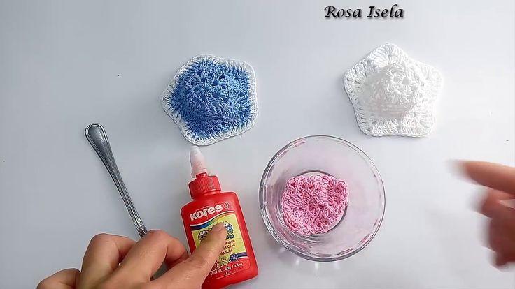 Endurece tus tejidos con pegamento blanco