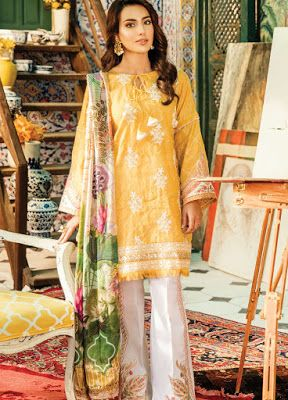 6d0aaeb50b Pakistani Suits Wholesaler In Delhi: Shiza Hassan Festive Collections 2018