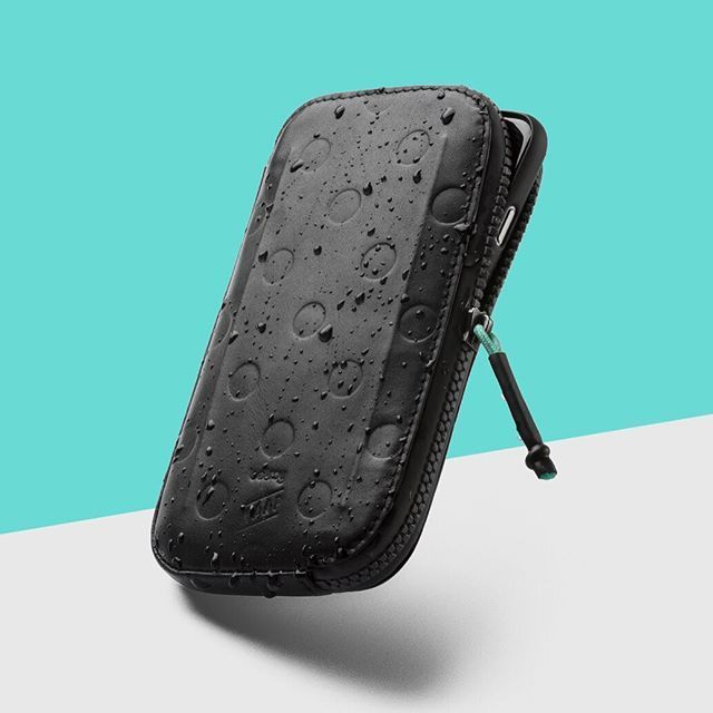"I N T R O D U C I N G The Bellroy x MAAP All-Conditions Phone Pocket. Protect your phone, cash, keys and cards from everything the ride throws at you. ""When I ride, I want a functional wallet that protects your phone but can also act as your primary wallet off the bike. The All-Conditions Phone Pocket definitely achieves this."" ~ @olliecuz , Creative Director at @maap.cc"
