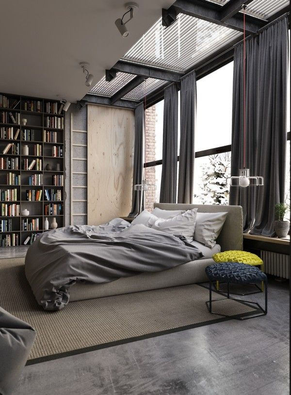 Amazing An Industrial Inspired Apartment With Sophisticated Style