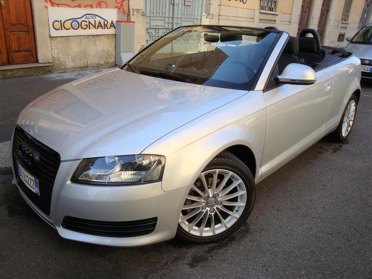 Auto Cicognara: Auto Usate e Service a Milano - 3939578915 (anche WhatsApp) NUOVO ARRIVO: Audi A3 Cabrio 2.0 TDI 140CV S Tronic usata. Per un cabrio a gennaio non c'è prezzo !!! Per il resto c'è ....... CLICCA sulla foto vedi KM percorsi ! STAY TUNED !!!  #AutoCicognara #AutoUsate #Officina #Carrozzeria #CambioOlio #TagliandoAuto #PastiglieFreni #RevisioneAuto #Milano #AC63MI #WhatsApp #Audi #A3 #Cabrio #Cabriolet #TDI #PochiKM