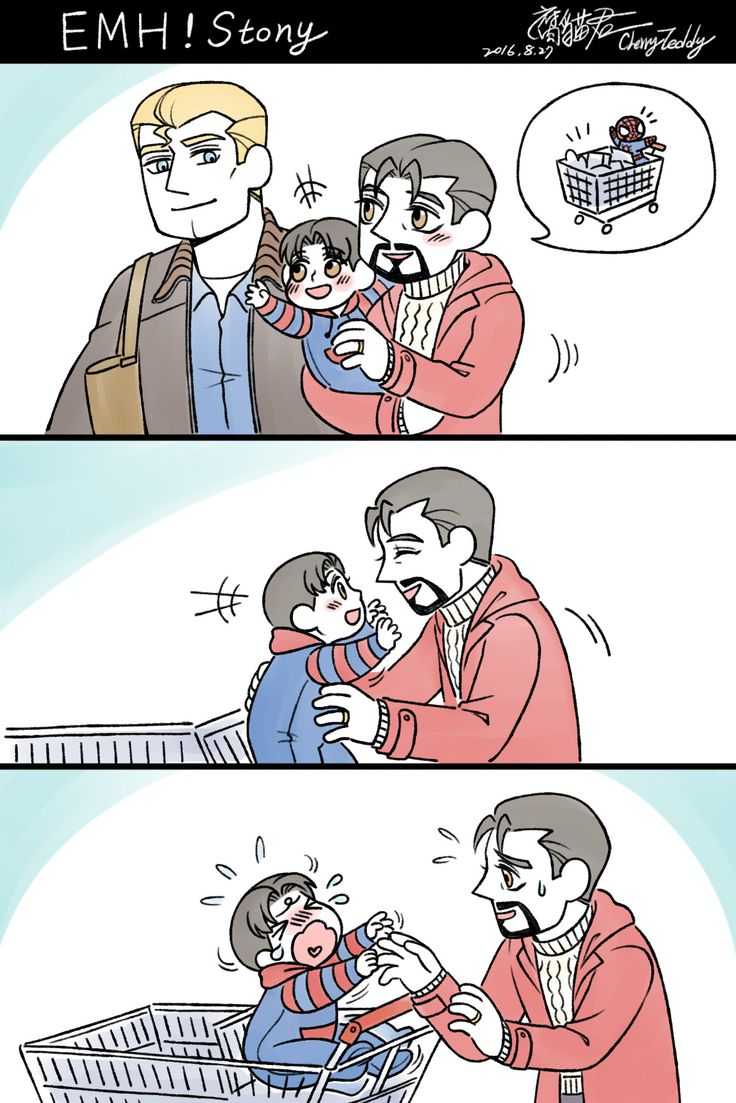Little Peter just wants his hug from daddy Tony