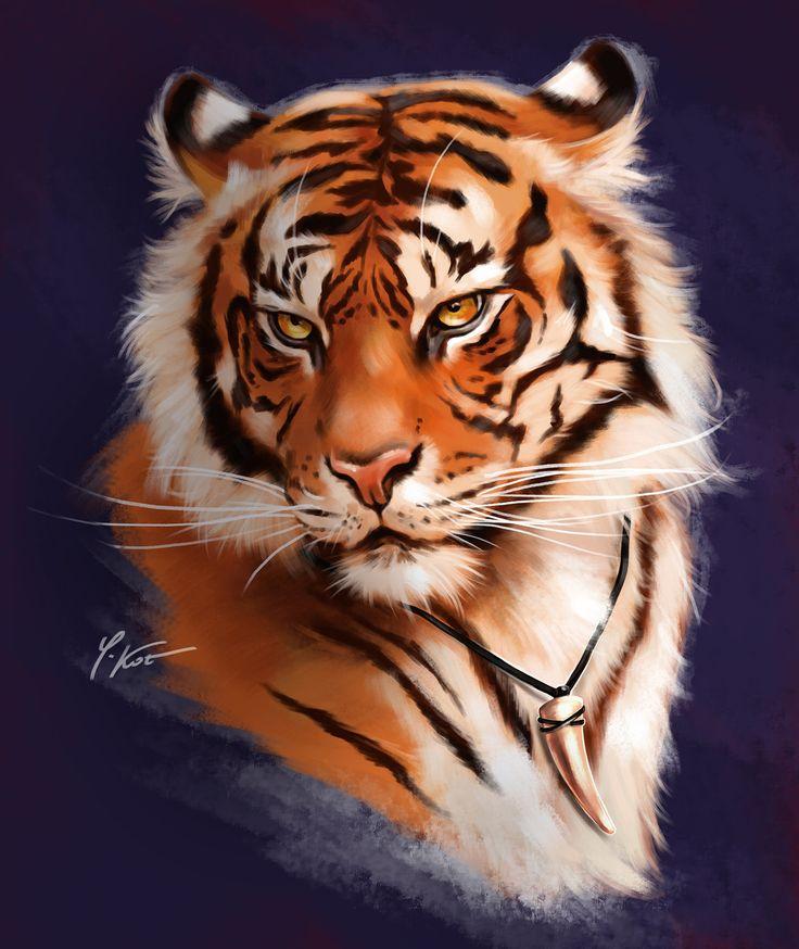 Вашими детьми, прикольные рисунки тигров
