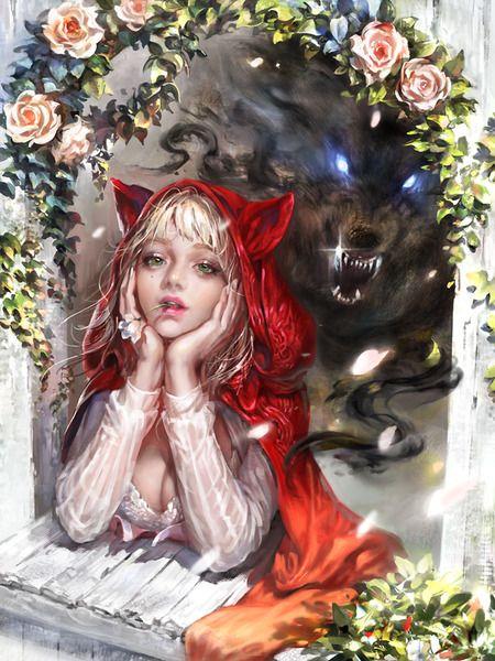 Red-hooded Girl