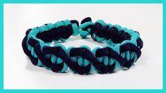 """Paracord Bracelet: """"Paralix"""" Bracelet Design Without Buckle"""
