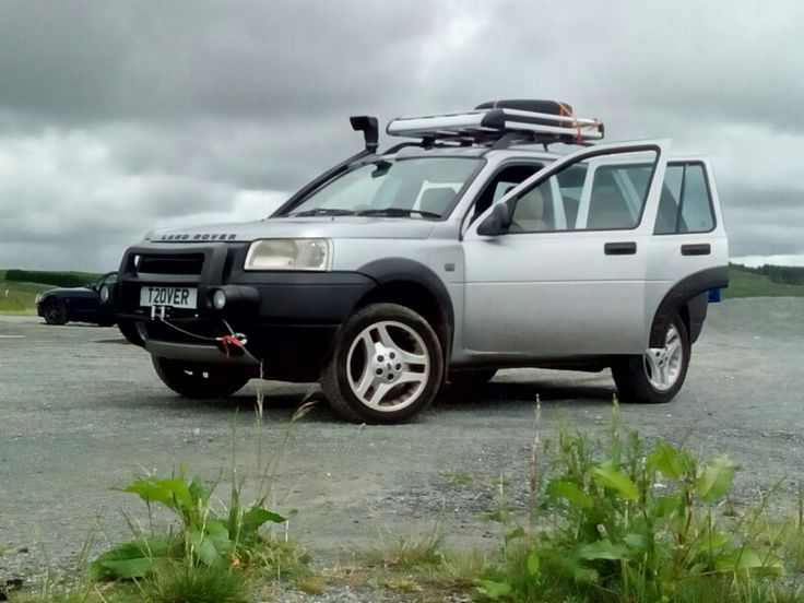 Freelander td4 with winch and snorkel