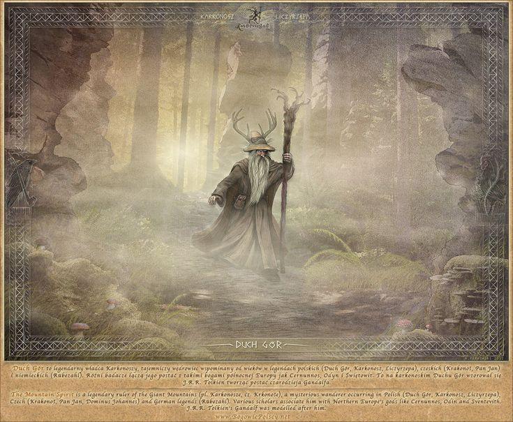 Duch Gór - Liczyrzepa, The mountain spirit