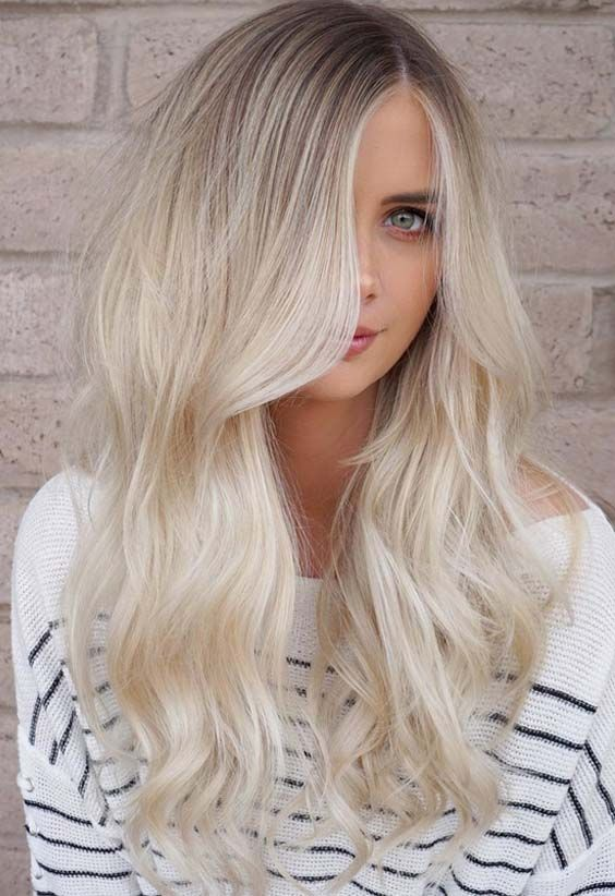 Most attractive and best blonde hair colors for different hair lengths to try in 2018. Blonde has so many sexy and cute highlights for various hair lengths. You may wear the beautiful blonde to get the stunning and unique hair look in 2018.