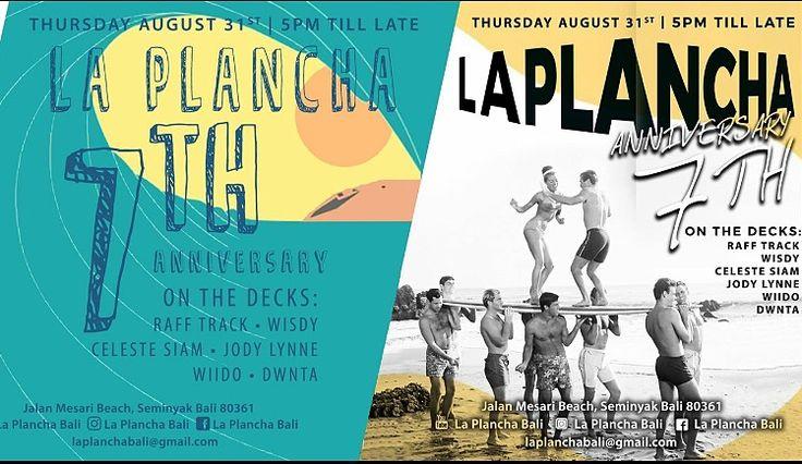 #Seminyak #Bali Nightlife: La Plancha 7th Anniversary Party.