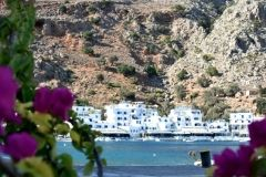 Loutro, is one of the most beautiful villages in the South of Crete