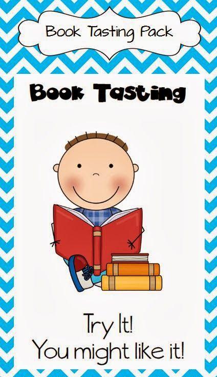 The Book Bug: Book Tasting Anyone?