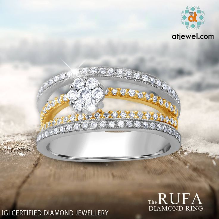 Design Of The Day..... ATJewel Presents a Beautiful Wedding Special Diamond Ring Just For You,at  Best Prize Shop Now. #ATJewel #Diamonds #Ring #FloralCollection #Gold #WeddingSpecial http://bit.ly/2jy2SSK