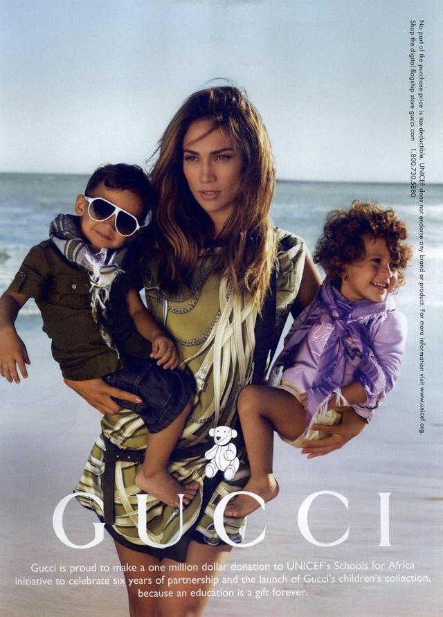 Gucci Kids Ad Campaign Fall/Winter 2010 Shot #3