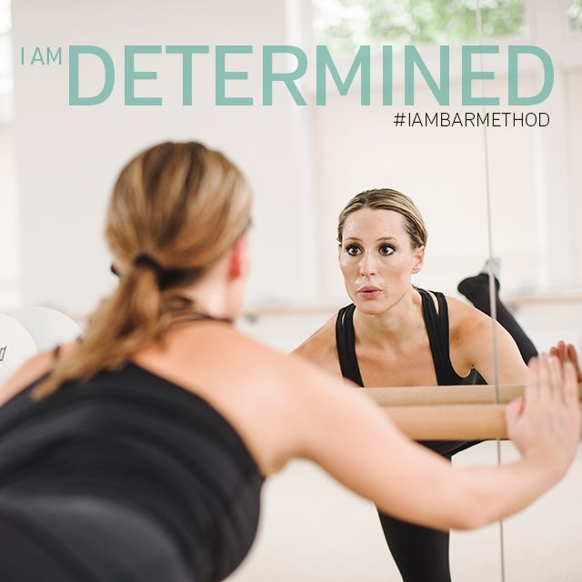 """""""This is the place where there are no excuses. I can do anything, as long as I put my mind to it!"""" #IAMBARMETHOD"""