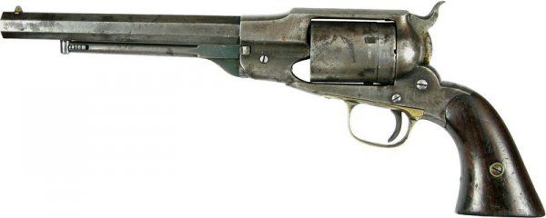 Lot: 92: REMINGTON PISTOL OWNED BY GENERAL GEORGE CUSTER, Lot Number: 0092, Starting Bid: $50,000, Auctioneer: Signature House, Auction: Auction XXXVII - Autographs & Memorabilia, Date: October 24th, 2009 PDT
