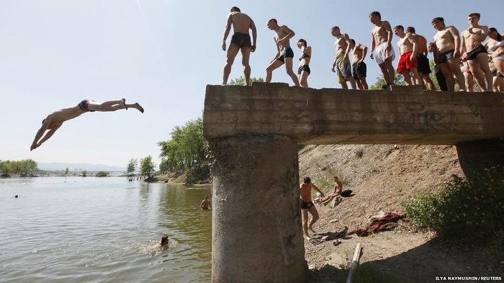 Russia's having fun today