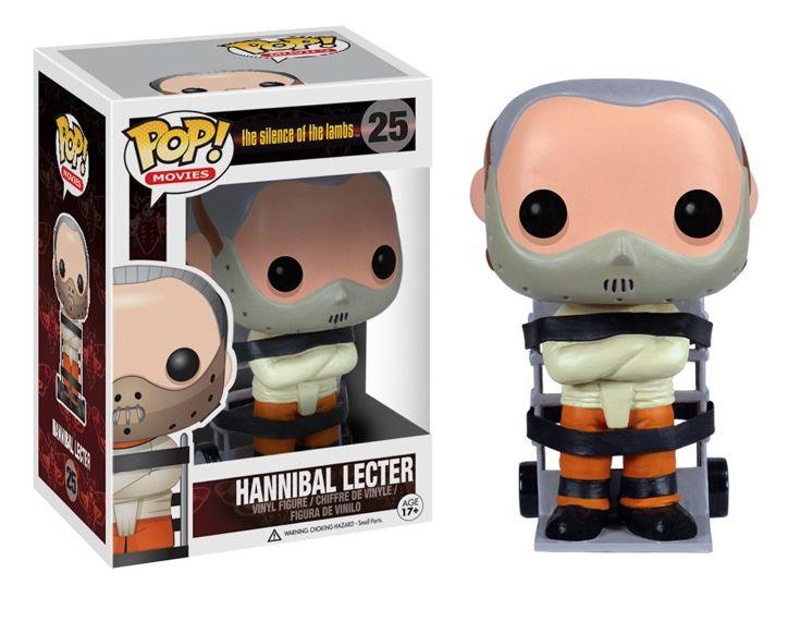Pop! Movies #25 - Hannibal Lecter http://www.funkosp.com/amz/B00BNPEJ7Q/