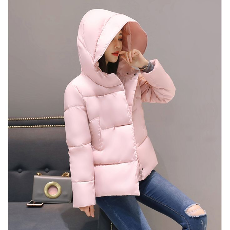 2017 NEW HOT SALE HIGH QUALITY WOMEN SHORT WINTER JACKET BREAD WEAR COAT LOOSE THICKEN WARM FEMALE PARKAS COTTON WADDING ZL354 #Affiliate